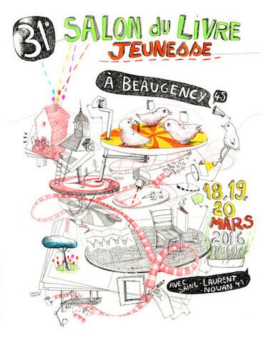 31e Salon du Livre Jeunesse de Beaugency et Saint-Laurent-Nouan : 18, 19 et 20 mars 2016
