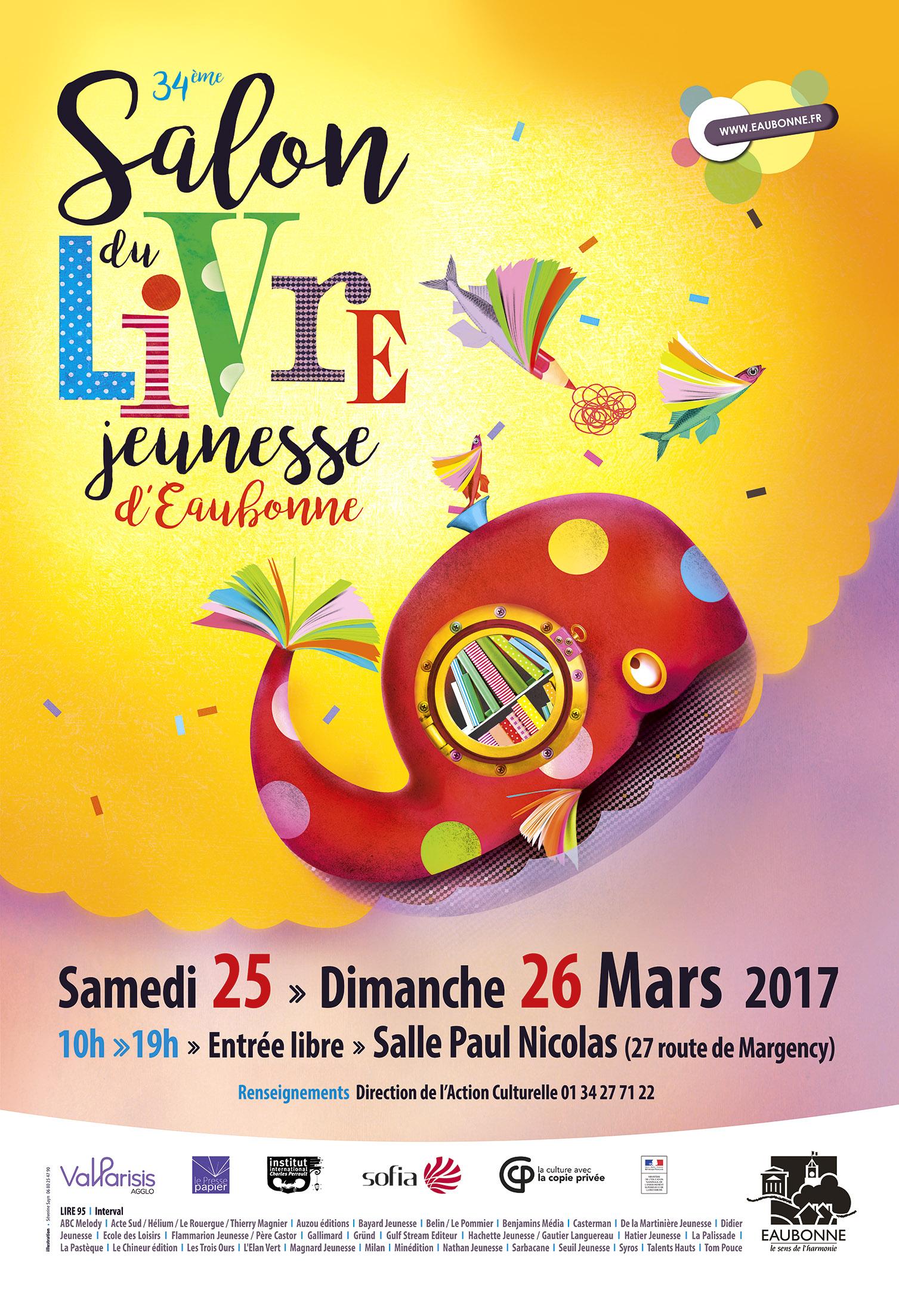Salon du livre jeunesse d 39 eaubonne - Salon livre jeunesse ...