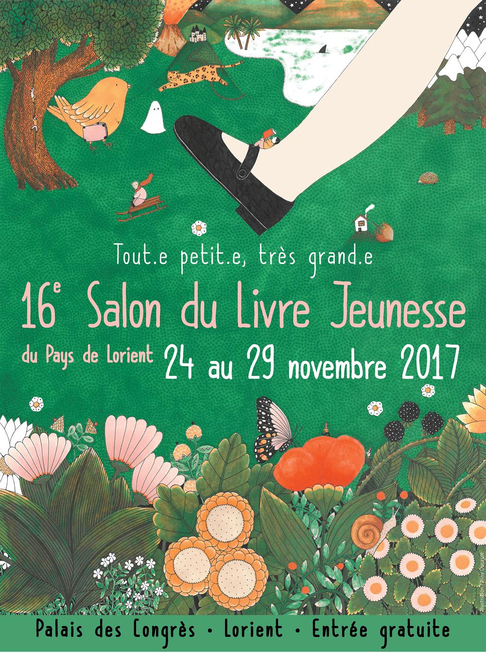 Salon du livre jeunesse du pays de lorient un site - Salon livre jeunesse ...