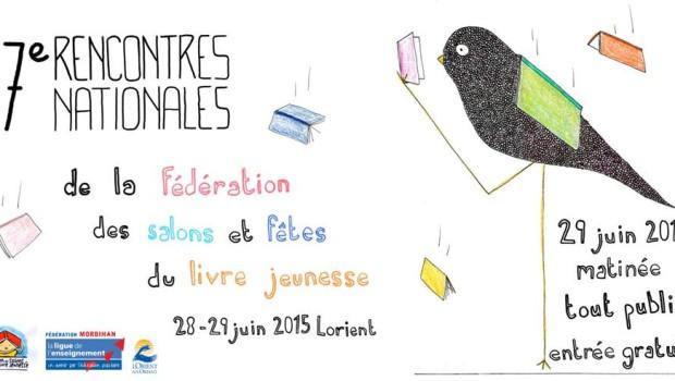 Rencontres nationales de la fédération des salons et fêtes du livre jeunesse