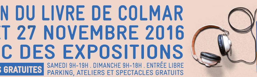 Le 27ème salon du livre de Colmar !