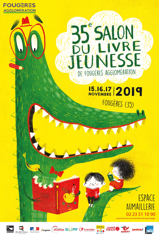 Salon Du Livre De Jeunesse De Fougeres Un Site Membre De