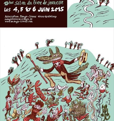 13è salon du livre jeunesse : 4 – 5 – 6 juin 2015