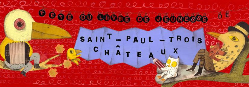 Présentation de la Fête du livre de jeunesse de Saint-Paul-Trois-Châteaux